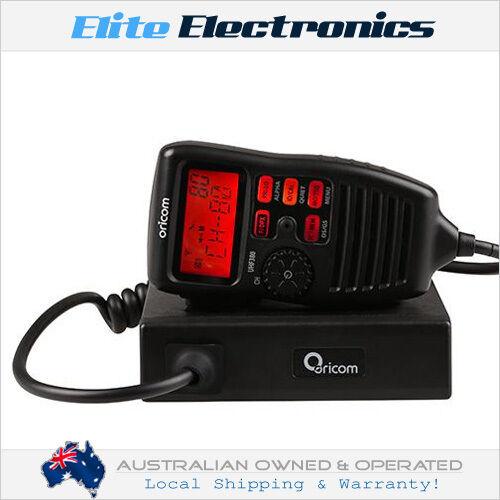 ORICOM UHF380 80-CHANNEL 5W UHF CB RADIO W/ CONTROLLER SPEAKER MICROPHONE
