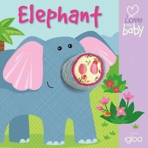 Elephant (I Love My Baby - Finger Fun), Igloo | Board book Book | Good | 9780857