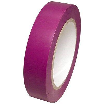 Purple Vinyl Tape 1 Inch X 36 Yd. 1 Roll. Spvc