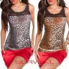 Leopard Sexy Tops for Women
