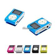 Mini Clip MP3 Player LCD