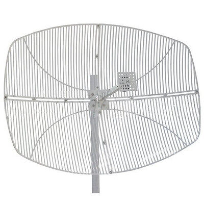 2.4GHz 27dBi DIRECTIONAL PARABOLIC GRID ANTENNA N STYLE (Only 1 unit) 2.4 Ghz Grid