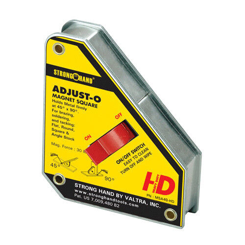 Strong Hand Tools 6 in. Heavy Duty Adjust-O Magnet Square (MSA48-HD)