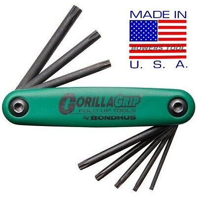 Bondhus Gorilla Grip Torx Star Fold Up ...