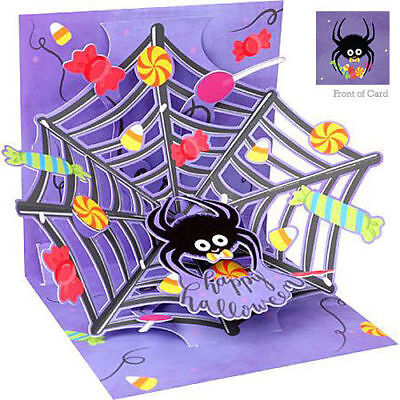 HALLOWEEN 3d Pop Up Greeting Card from Up With Paper - HAPPY HALLOWEEN WEB