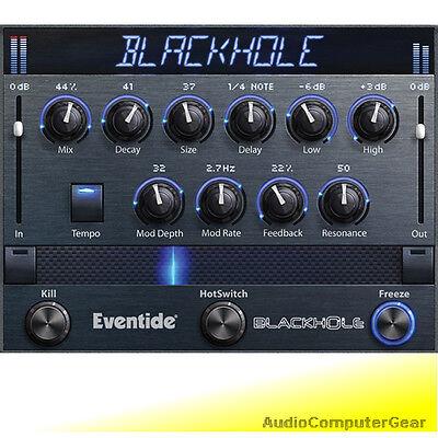 Eventide BLACKHOLE Native Reverb Plug-in Black-Hole Audio Software Effect NEW