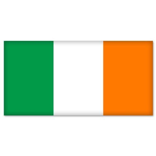 Ireland Irish Flag bumper sticker decal   2.5""
