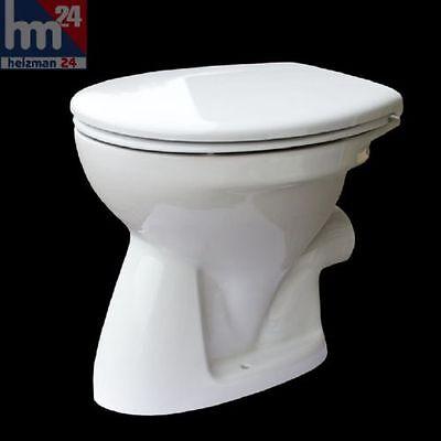 Gustavsberg Saval 2.0 Stand-Tiefspül-WC 7G641001 inkl. WC Sitz mit Softclose
