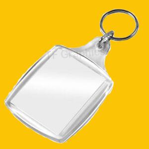 Design your own Personalised Photo Custom Keyring (Large) Image Size 35mm x 45mm
