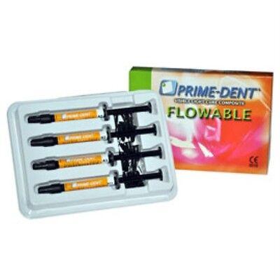 Prime-dent Flowable Composite 4 Assorted Syringe Kit - Vlc