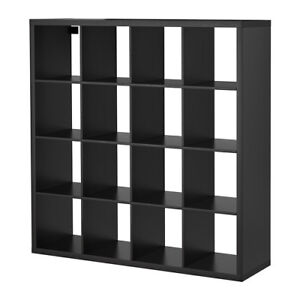 IKEA shelf unit bookcase - black