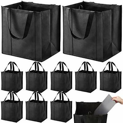 10 Pack Reusable Grocery Bags Heavy Duty Shopping Bags Large Grocery Totes Set