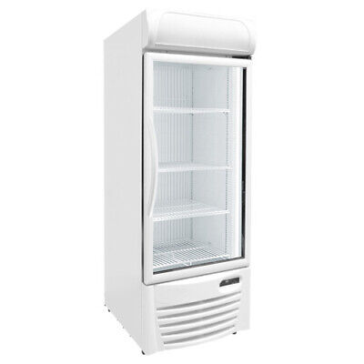 27 Upright Glass Door Display Freezer Commercial Excellence Gdf-13 New 9738