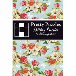Holiday Puzzles: For Discerning Solvers (Pretty Puzzles), New, Carlton Books Boo
