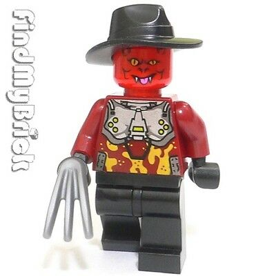 M021 Lego Halloween Nightmare Zombie Custom Freddy Minifigure NEW
