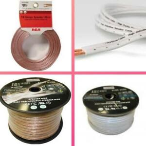 Weekly promo!  Speaker wire , SPEAKER CABLE, from $9.95 and up