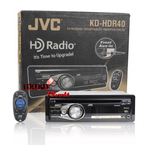 JVC HD Car Stereo