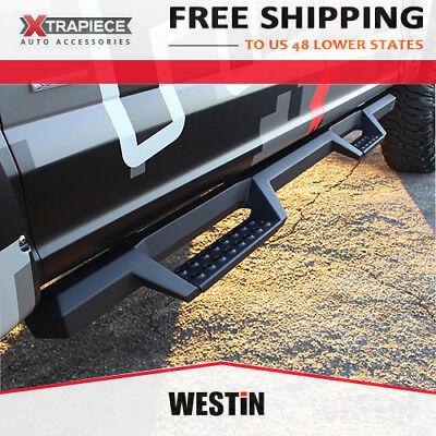 07-19 GMC Sierra 2500HD 3500HD Crew Cab Westin HDX Drop Nerf Bars Side Step