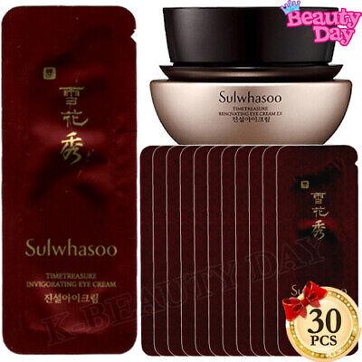 Sulwhasoo Timetreasure Invigorating Eye Cream 1ml x 30pcs (30ml) Eye Treatment