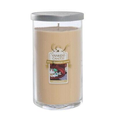 Yankee Candle Magical Christmas Santa's Cookies Medium Perfect Pillar 12oz / NEW