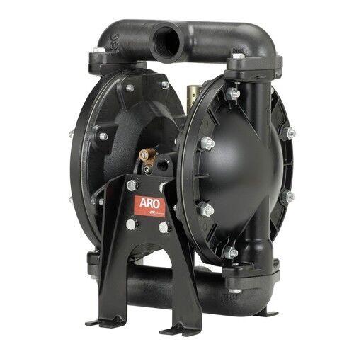 Купить 666100-3C9-C - Aro Double Diaphragm Pump, Air Operated, 1 IN 666100-3C9-C, Oil, Diesel, Water