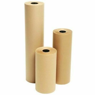 5 x 450mm Heavy Duty Strong Kraft Wrapping Postal Parcel Paper Eco Roll Wrapping