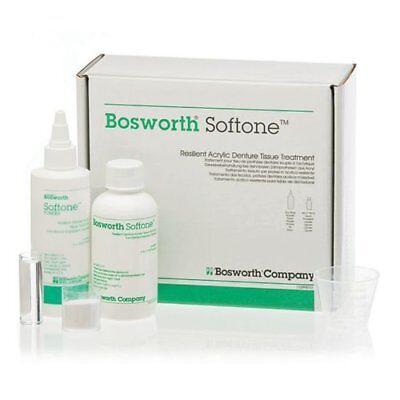 Bosworth Softone Resilient Acrylic Denture Tissue Treatment Kit -fda