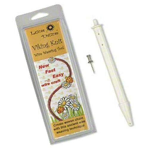 """Lazee Daizee Viking Knit Tool Wire Weaving Jewelry Knitting Chain 1/2"""""""