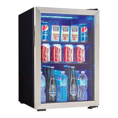 Danby 95 Can 2.6 Cu. Ft. Beverage Center Soda Beer Mini Refrigerator (Damaged)