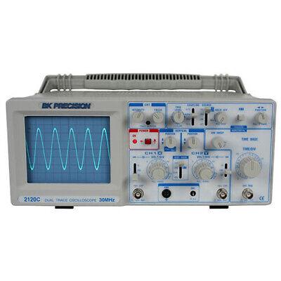 Bk Precision 2120c 30 Mhz Dual Trace Analog Oscilloscope