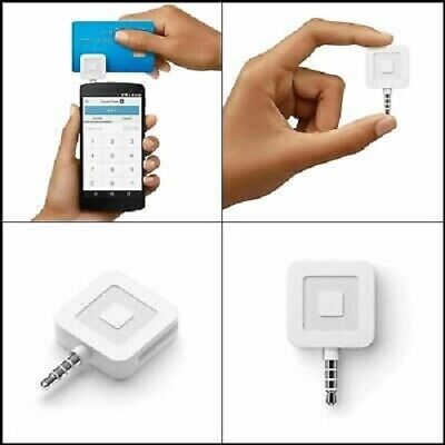 Square A-pkg-0206-01 Credit Debit Card Reader - White For Apple Iphone And...