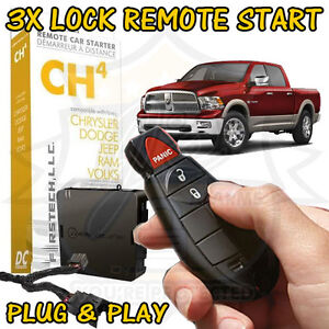 2012 dodge ram 1500 plug play remote start add on easy ft. Black Bedroom Furniture Sets. Home Design Ideas