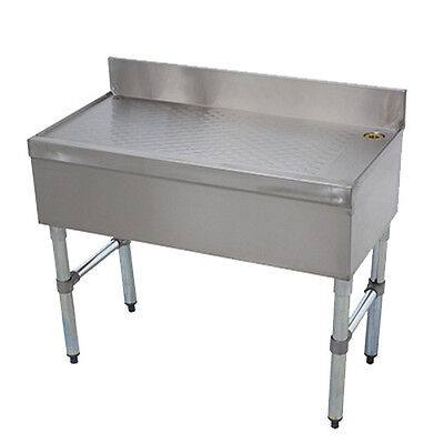 Advance Tabco Crd-12 12 Underbar Drainboard Workboard
