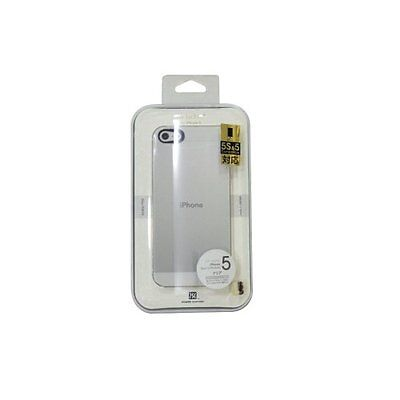 Power Support Clear Air Jacket For iPhone 5 & 5S w/ screen protectors