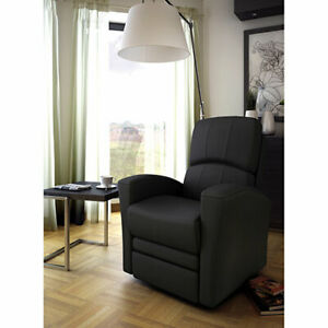 Kidiway Varadero Leather Glider - Recliner - Grey​