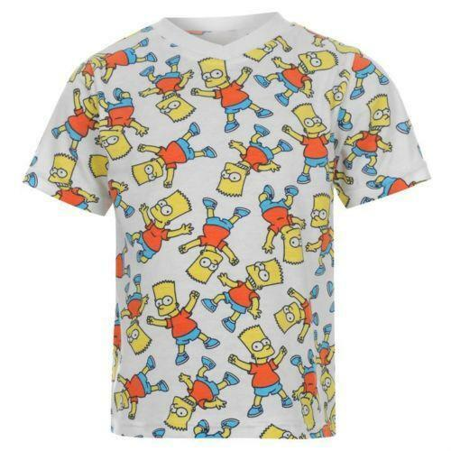 Boys Simpsons T Shirt Ebay