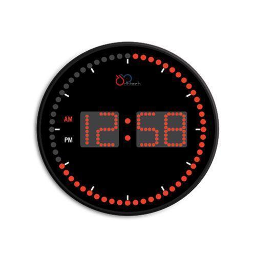 Red Digital Clock Ebay