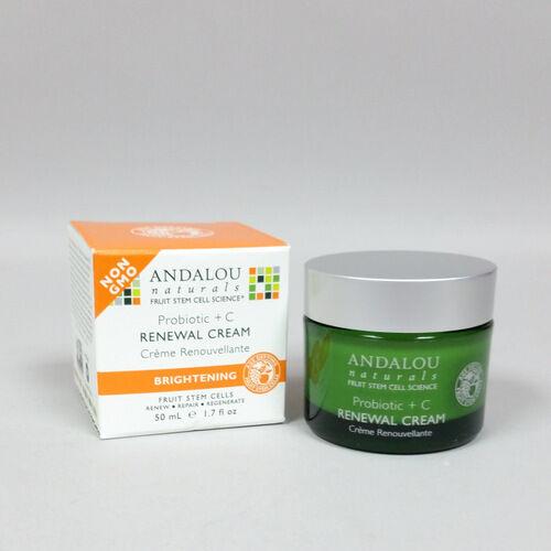 Andalou Naturals Probiotic C Renewal Cream Brightening 1.7 o