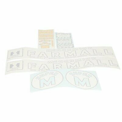 Vinyl Decal Set - Farmall Super M International Super M