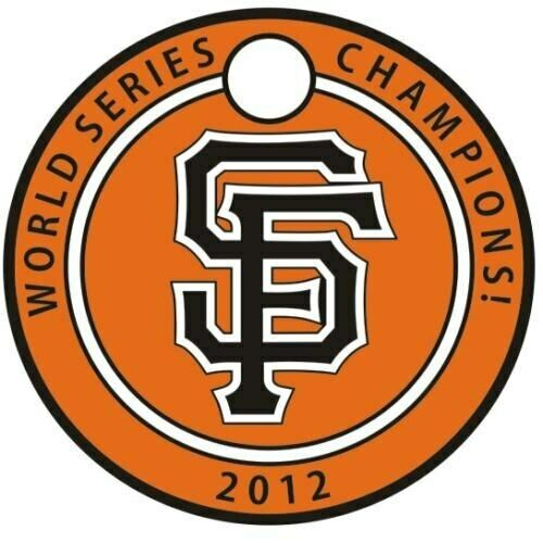 Pathtag #25085 - SF Giants 2012 World Series Champions - Geocaching