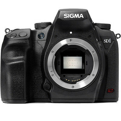 Sigma SD1 Merrill 46.0MP Digital SLR Camera - Black (Body Only)