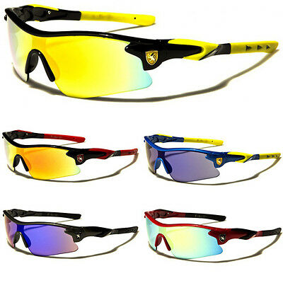 Khan Half Frame Kids Teen Age 8-16 Boys Youth Cycling Sport Baseball Sunglasses