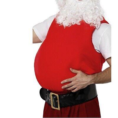 Mens Christmas Santa Belly Stuffer Vest 38-46