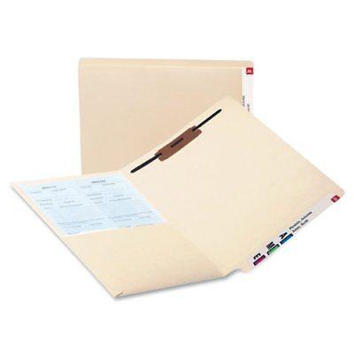 Smead 34100 Manila End Tab Pocket Folder With Fastener - Letter - Smd34100