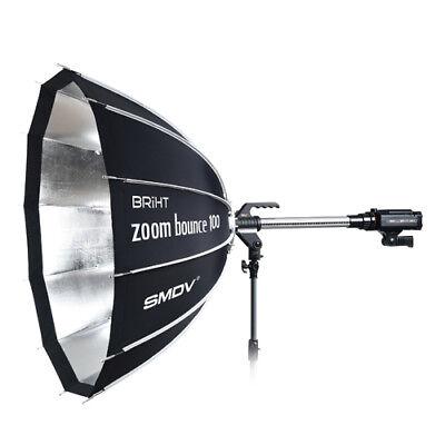 SMDV BRiHT Zoom Bounce-100 Soft Box Speed Box Flash Lamp Light Camera Diffuser