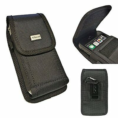 XXL Premium Holster Nylon Pouch Case Fits iPhone 6s Plus with Otterbox Defender