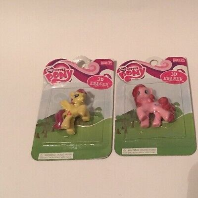 My Little Pony School Supplies (My Little Pony School Supplies 3D ERASER Yellow Pink New)
