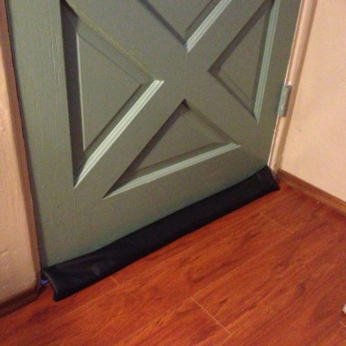Door Draft Blocker Home Amp Garden Ebay