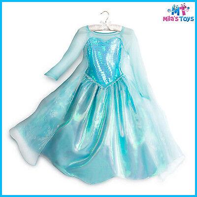 Disney Frozen's Elsa Costume for Kids sizes 3-10 brand new with - Elsa Costume For Children