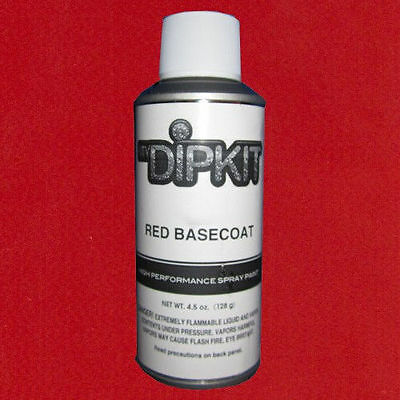 Hydrographics Paint Aerosol Water Transfer Printing Mydipkit My Dip Kit Red